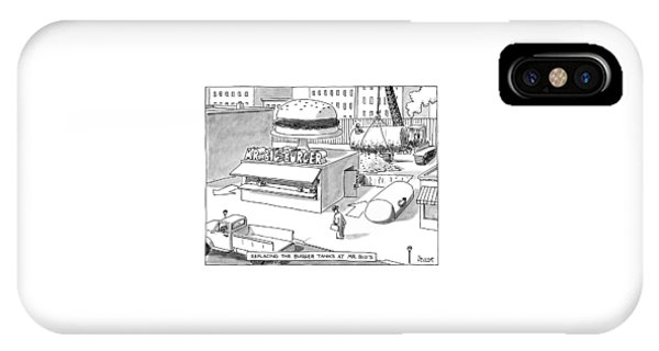 Replacing The Burger Tanks At Mr. Big's IPhone Case