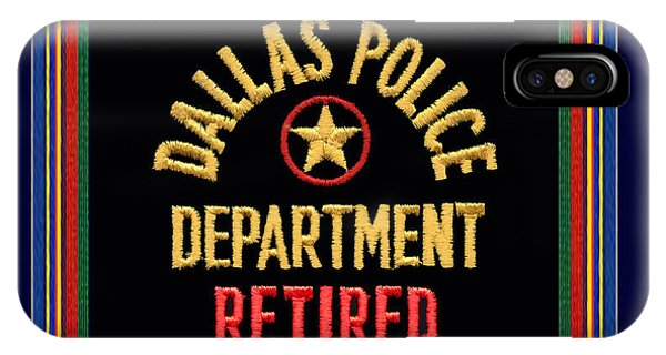 Replica D P D Patch - Retired With Epaulette Colors IPhone Case