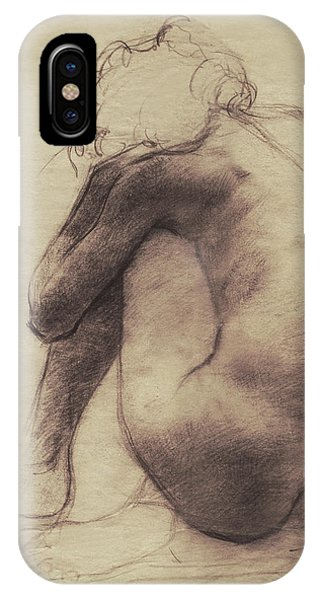 Figures iPhone Case - Repose by Eric Fan