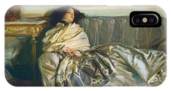 Relaxation iPhone Case - Repose by John Singer Sargent
