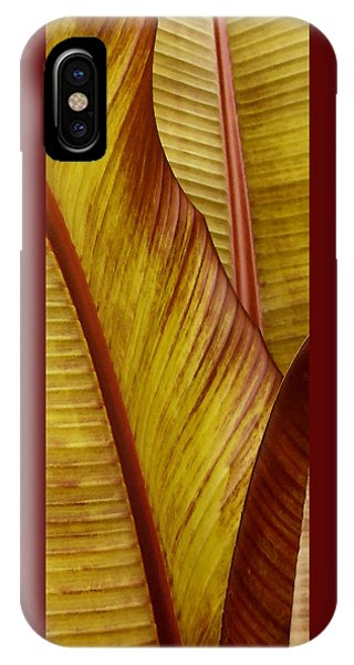 Repose - Leaf IPhone Case