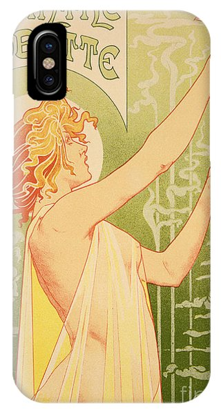 Beverage iPhone Case - Reproduction Of A Poster Advertising 'robette Absinthe' by Livemont