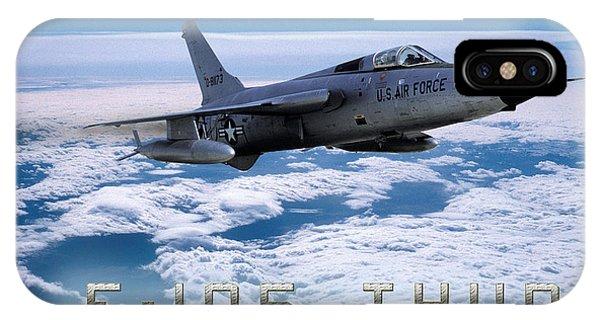 Republic F-105 Thunderchief IPhone Case