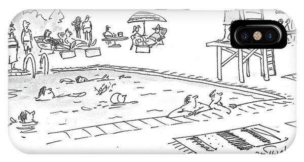 Republicans Swim IPhone Case