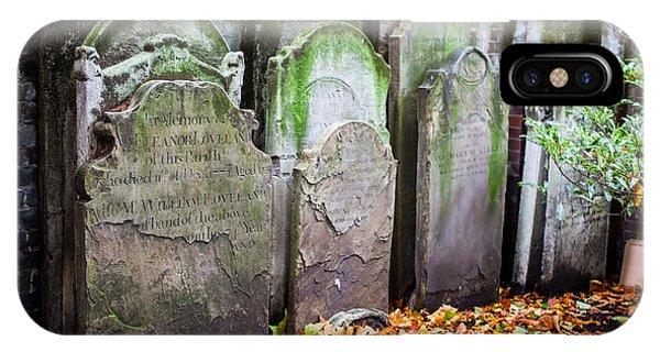 Repurposed Tombstones IPhone Case