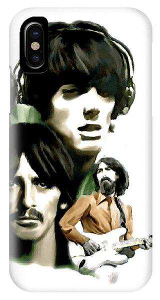 Requiem II George Harrison IPhone Case