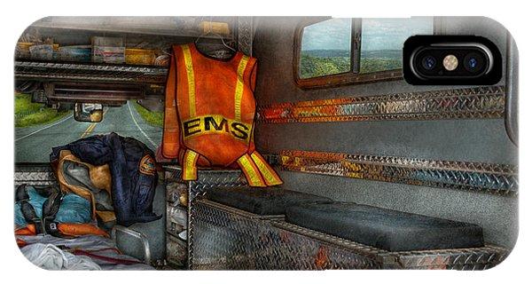 Rescue - Emergency Squad  IPhone Case