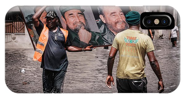 Flooded iPhone Case - Rescued Castro by Andreas Bauer