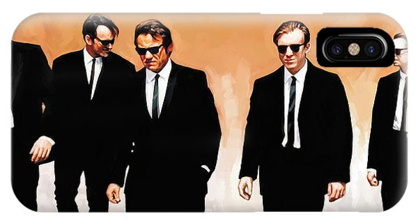Reservoir Dogs Movie Artwork 1 IPhone Case