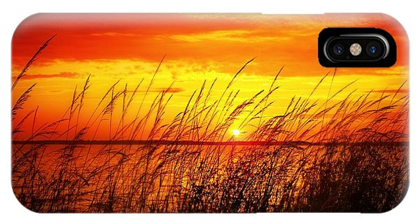 Reservoir Sunset 3 IPhone Case