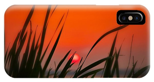 Reservoir Sunset IPhone Case