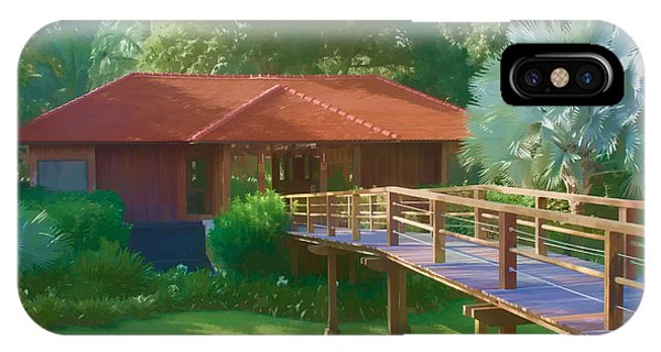 Resort Spa IPhone Case