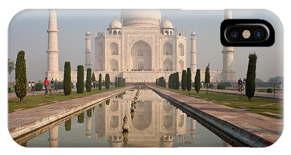 Resplendent Taj Mahal IPhone Case