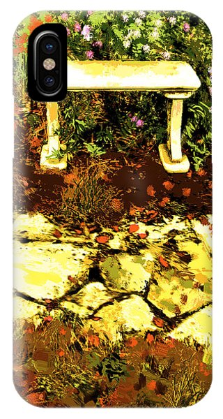Rest Amongst The Flowers IPhone Case