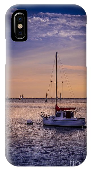 Regatta iPhone Case - Rest Day by Marvin Spates