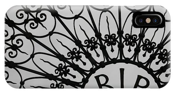 San Gabriel Mission iPhone Case - Rest In Peace by Art Block Collections