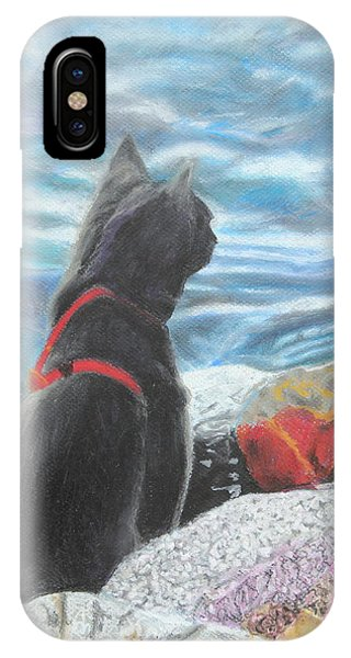 Resting By The Shore IPhone Case