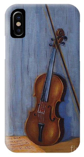 Resting Violin IPhone Case