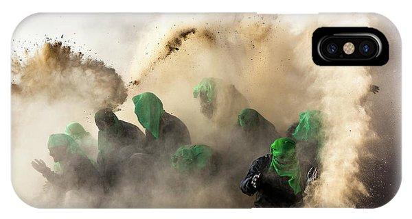 Action iPhone X Case - Resurrection-iv by Mohammadreza Momeni