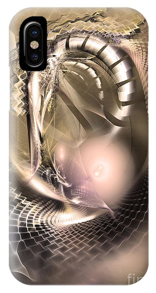 Rete Temporis - Abstract Art IPhone Case