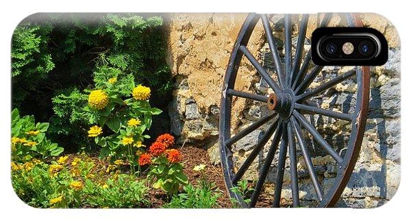 Retired Wagon Wheel IPhone Case