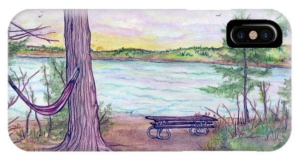 Retreat By The Lake Phone Case by Jan Wendt