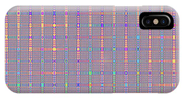 Retro Abstract In Lines IPhone Case