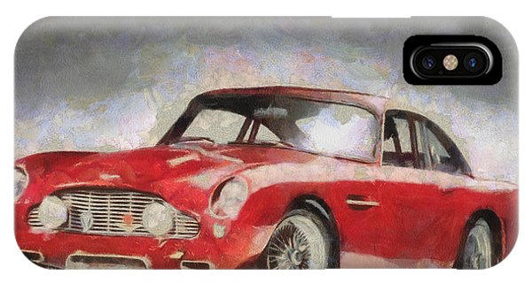Retro Aston Martin Db5 1963-1965 IPhone Case