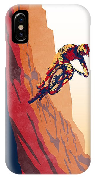 Bull Art iPhone Case - Retro Cycling Fine Art Poster Good To The Last Drop by Sassan Filsoof