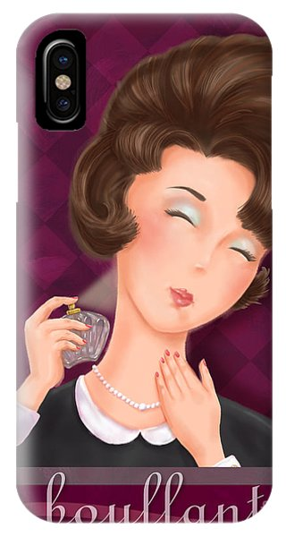 Retro Hairdos-bouffant IPhone Case