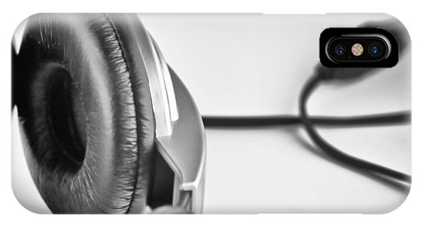Retro Headphones IPhone Case