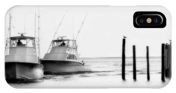 Returning Home - Fishing On The Outer Banks IPhone Case