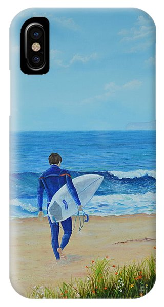 Returning To The Waves IPhone Case