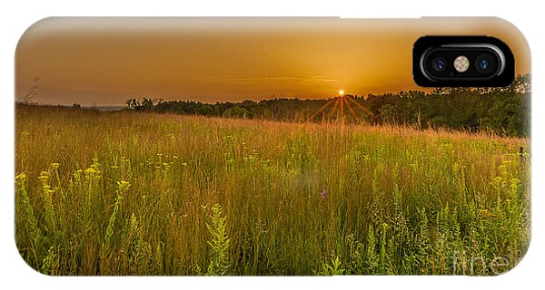 The Nature Center iPhone Case - Retzer Sunset by Andrew Slater