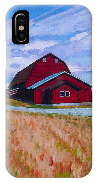 Reuble Barn Whidbey Island IPhone Case