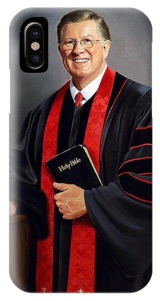Rev Guy Whitney IPhone Case