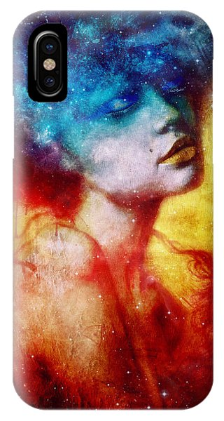 Texture iPhone Case - Revelation by Mario Sanchez Nevado