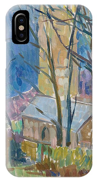 English Countryside iPhone Case - Reverend Hawkers Church At Morwenstow IIi Oil On Canvas by Erin Townsend