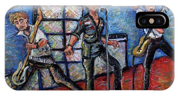 Jason Terry iPhone Case - Revolution Rock The Clash by Jason Gluskin