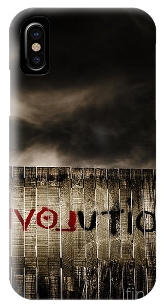 Protest iPhone Case - Revolution. The Writings On The Wall by Jorgo Photography - Wall Art Gallery