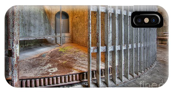 Revolving Jail Cell 1885 IPhone Case