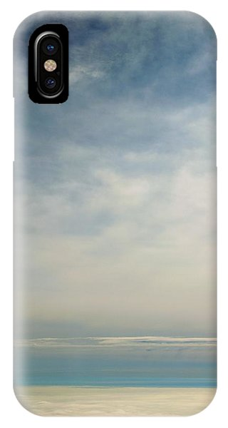 Rhapsody In Blue And White IPhone Case