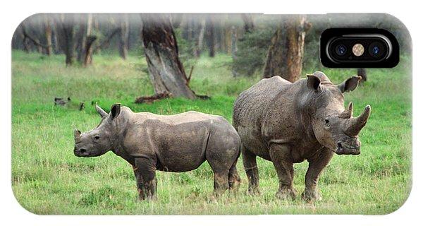 Rhino Family IPhone Case