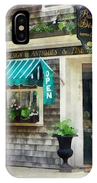 Rhode Island - Antique Shop Newport Ri IPhone Case