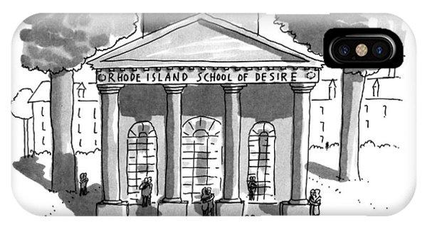 Lust iPhone Case - Rhode Island School Of Desire by Michael Crawford