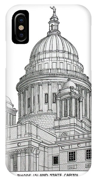 Rhode Island State Capitol IPhone Case