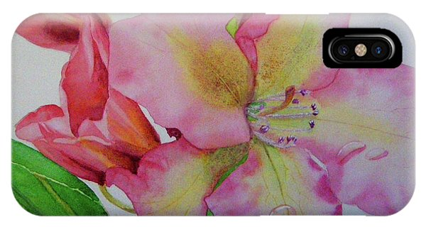 Rhodie With Dew I IPhone Case