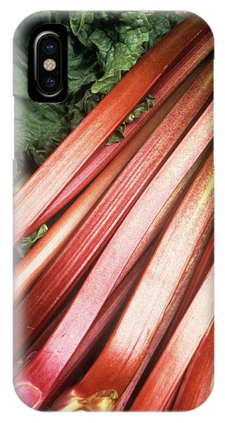 Rhubarb Phone Case by Ray Lacey/science Photo Library