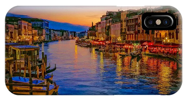 Rialto Evening IPhone Case