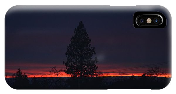 Ribbon Of Sunset IPhone Case